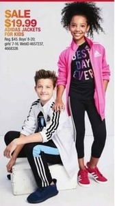 Select adidas Kids' Jackets