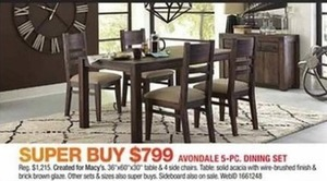 Avondale 5-pc. Dining Set