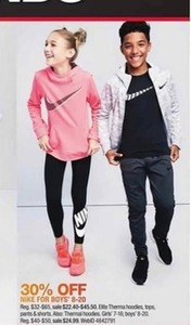 Nike for Boys' 8-20