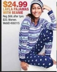 Layla Pajamas With Beanie