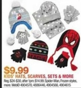 Kids' Hats, Scarves, Sets & More