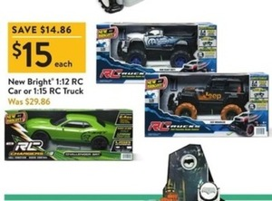 New Bright 1:12 RC  Car