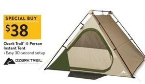 Ozark Trail 4-Person Instant Tent  sc 1 st  TGI Black Friday & Ozark Trail 4-Person Instant Tent - $38.0 at Walmart on Black Friday