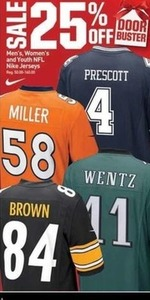 Men's, Women's & Youth NFL Nike Jerseys