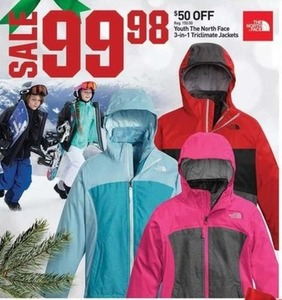The North Face Youth 3-1 Triclimate Jackets