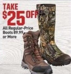 All Regular Price Boots 89.99 or More