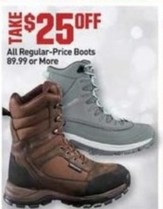 All Regular Price Boots $89.99 Or More