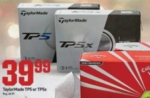 TaylorMade TP5 or TP5x