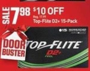Top-Flite D2+ (15-Pack)