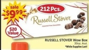 Russell Stover Wow Box