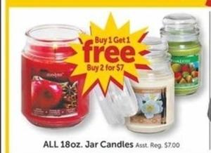 All 18oz Jar Candles