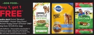 Entire Stock of Purina, Beneful & Pedigree Dog Food
