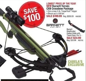 Barnett Terrain CXB Crossbow Package