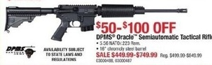DPMS Oracle Semiautomatic Tactical Riffle