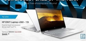 HP Envy Laptop x360-15t