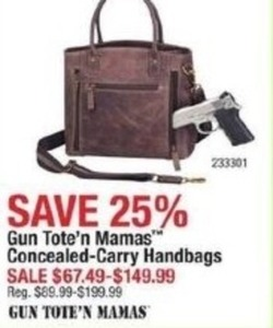 Gun Tote'n Mamas Concealed-Carry Handbags
