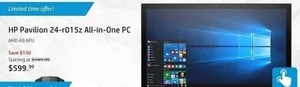 HP Pavillion 24-r015z All-in-One PC