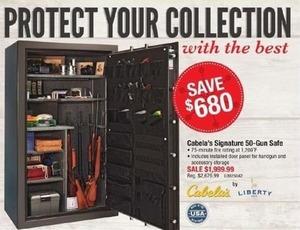 Cabela's Signature 50-Gun Safe