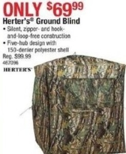Herter's Ground Blind