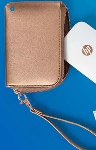 HP Sprocket Gold Wallet Case