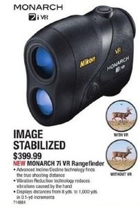 Nikon Monarch 7i VR Rangefinder Image Stablized