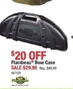 Flambeau Bow Case