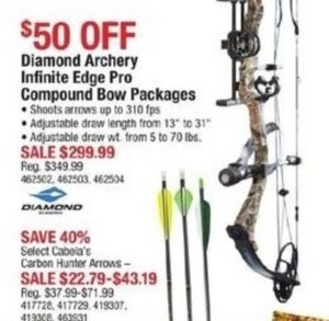 Cabela's Carbon Hunter Arrows