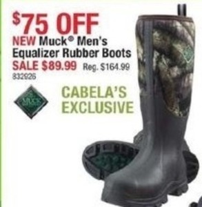 Muck Men's Equalizer Rubber Boots