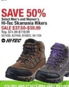 Hi-Tec Skamania Hikers