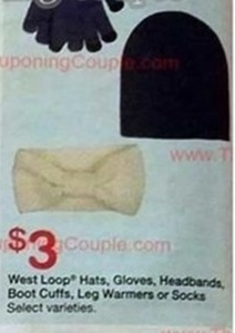 West Loop Hats, Gloves, Headbands, Boot Cuffs, Leg Warmers Or Socks
