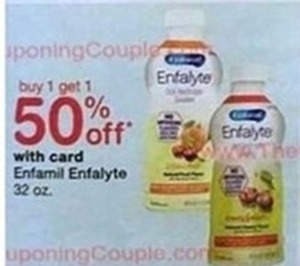 Enfamil Enfalyte with Walgreens Card