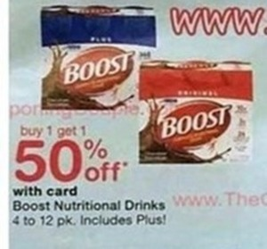 Boost Nutritional Drinks, 4-12 pk.