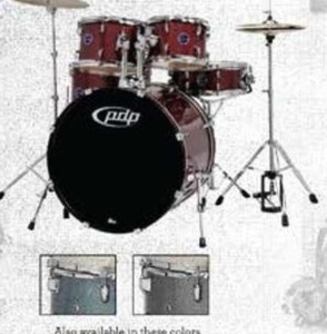 PDP by DW Encore 5-Piece Drum Set w/ Cymbals and Hardware
