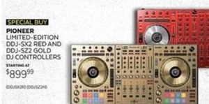Pioneer Limited Edition DJ Controllers
