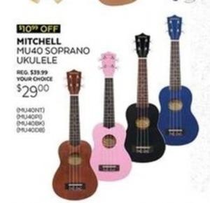 Mitchell Soprano Ukulele