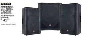 Harbinger Vori Series Powered Speakers
