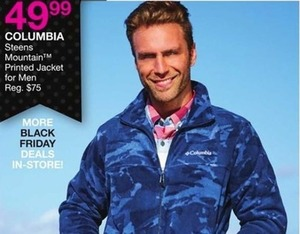 Columbia Steens Mountain Printed Jacket