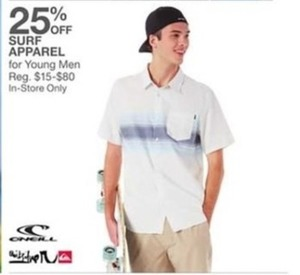 Men Surf Apparel