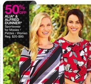 Alia & Alfred Dunner Sportswear