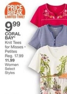 Coral Bay Knit Tees