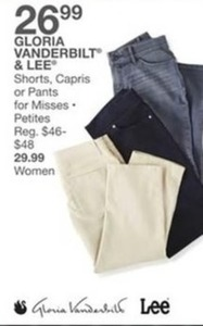 Gloria Vanderbilt & Lee Shorts, Capris or Pants