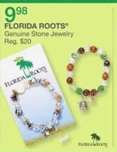 Florida Roots Genuine Stone Jewelry