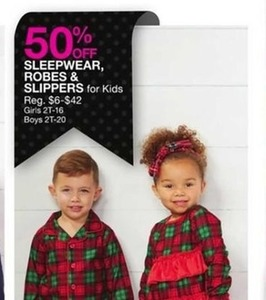 Sleepwear, Robes and Slippers for Kids
