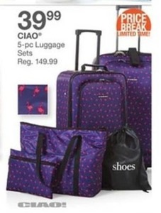 Ciao 5-pc Luggage Sets