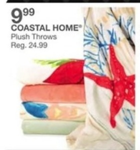 Coastal Home Plush Throws
