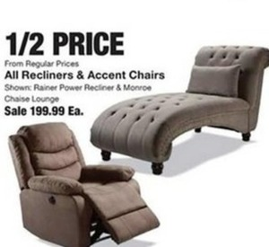 All Recliners & Accent Chairs