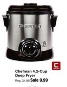 Chefman 4.2 Cup Deep Fryer