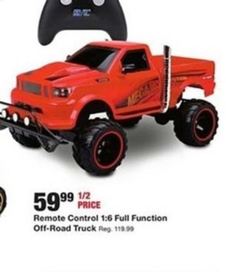 Remote Control 1:6 Full Function Off Road Truck