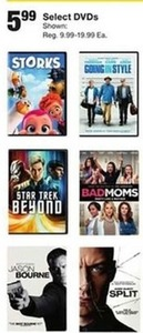 Select DVD's