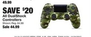 All Dual Shock Controllers